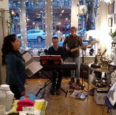 Katalyst Gallery in Old Town Lansing with Bob Rose, Chase Boulware, and Chad Papa