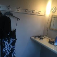 My dressing room at the Memorial Theatre in Mt. Vernon, OH; Summertime-produced by Alayne Wegner-Violinist