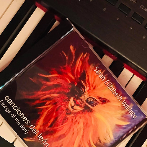 canciones del león (songs of the lion) CD