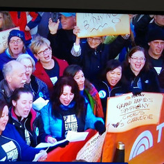 At the Today Show with the Grand Rapids Symphony Chorus