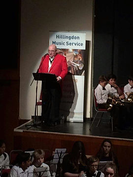 Comparing HMS concert at Winston Churchill Hall