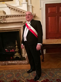 In my City Livery at the Mansion House London