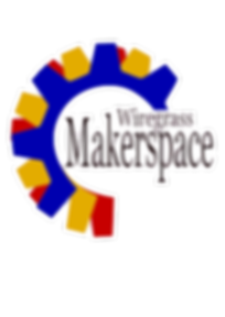 Wiregrass Maker Space Logo white outline