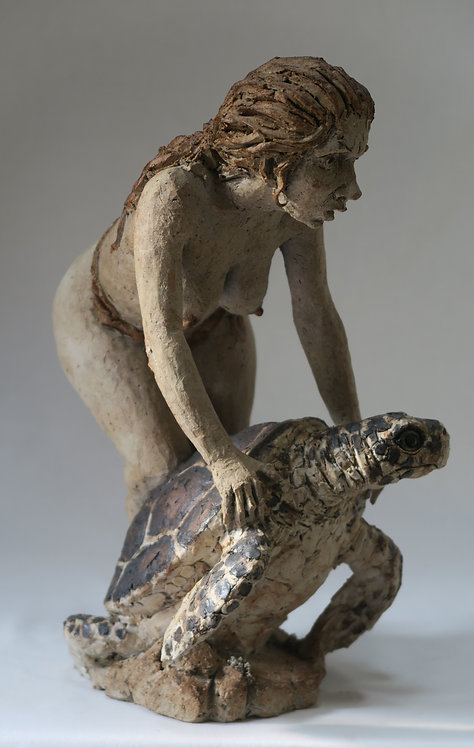 Nude with Turtle