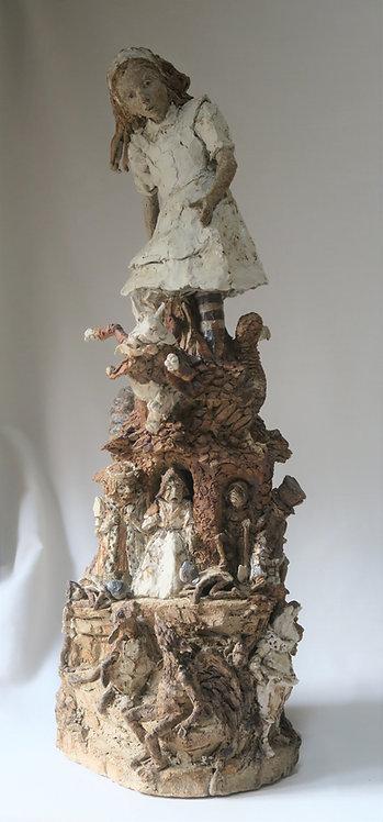 Alice Statue Maquette