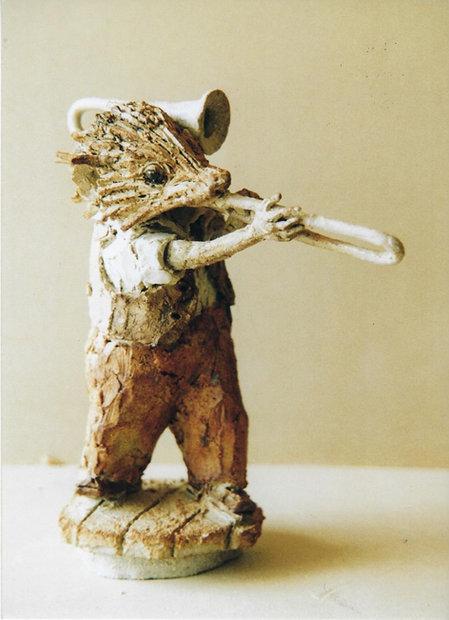 Jazz Hedgehog Trombonist