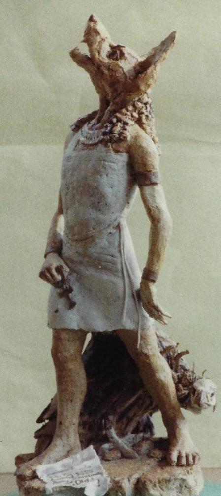 Anubis Jackel-headed god.Vulturefront.jp
