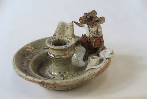 Picnic Mouse Candle