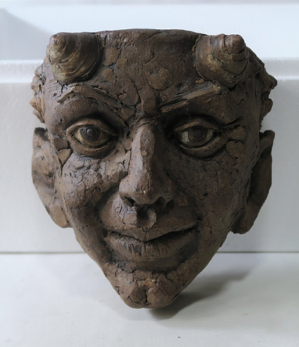 Devil Ramshorn Mask