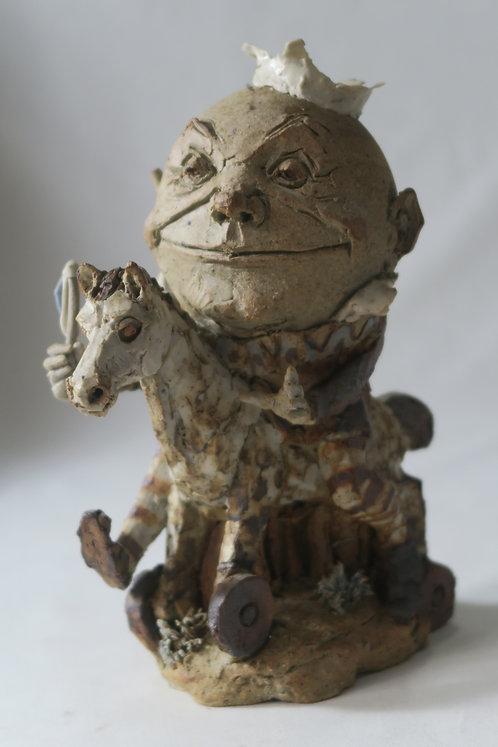 Humpty Dumpty on Hobby-Horse
