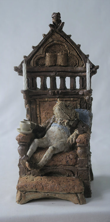Toad on Bishop's Throne