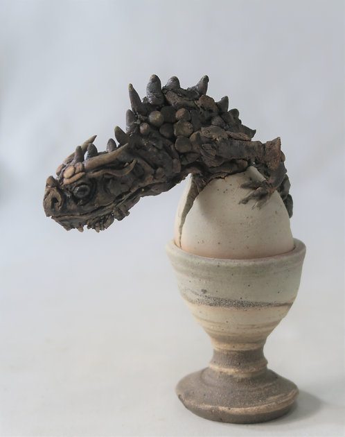 Hatching Dragon Egg-Cup