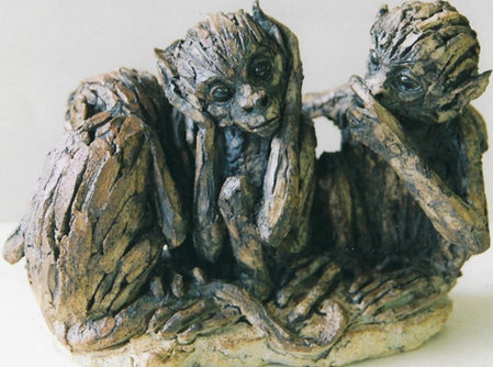 Three Wise Monkies