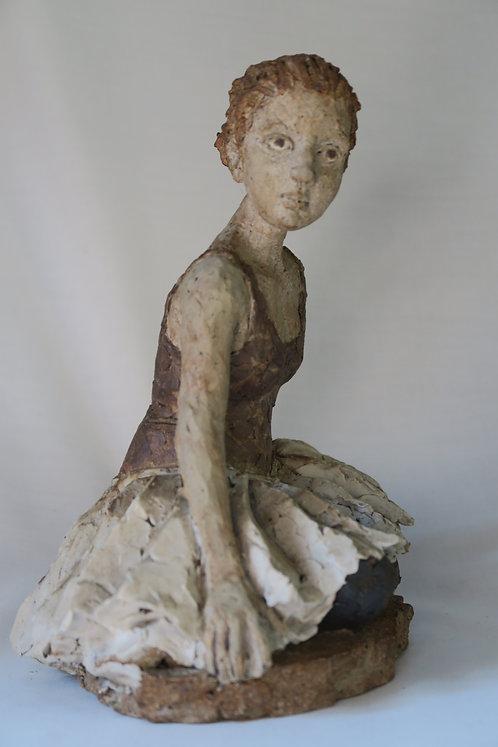 Seated Ballet Dancer