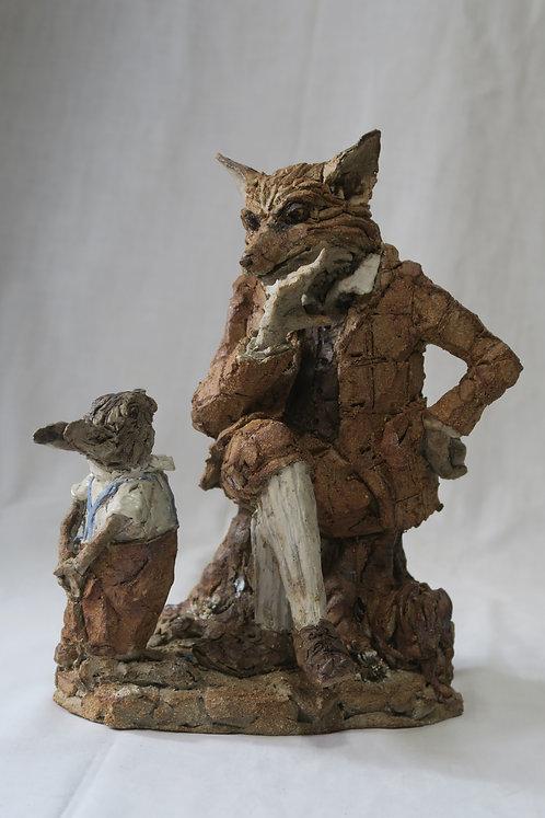 Fox and Rabbit