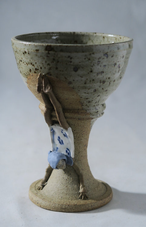 Cardman in Headstand on Goblet