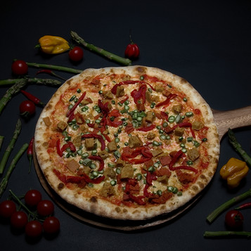 Vegan Chorizo Pizza
