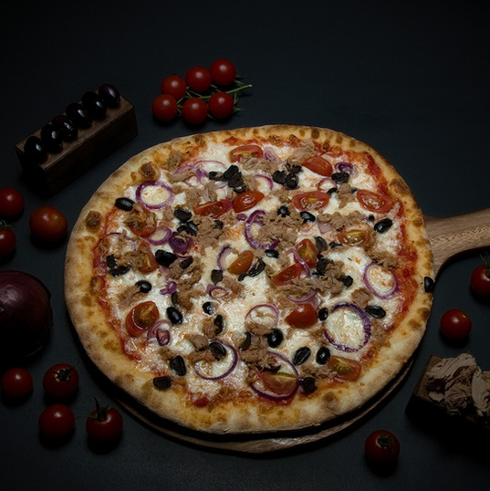 Tuna Pizza