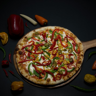 Mexican Hot Pizza