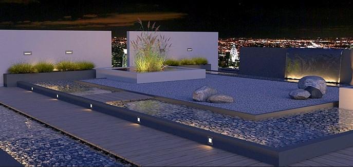 Platoflex : murs légers pour décoration moderne de jardin
