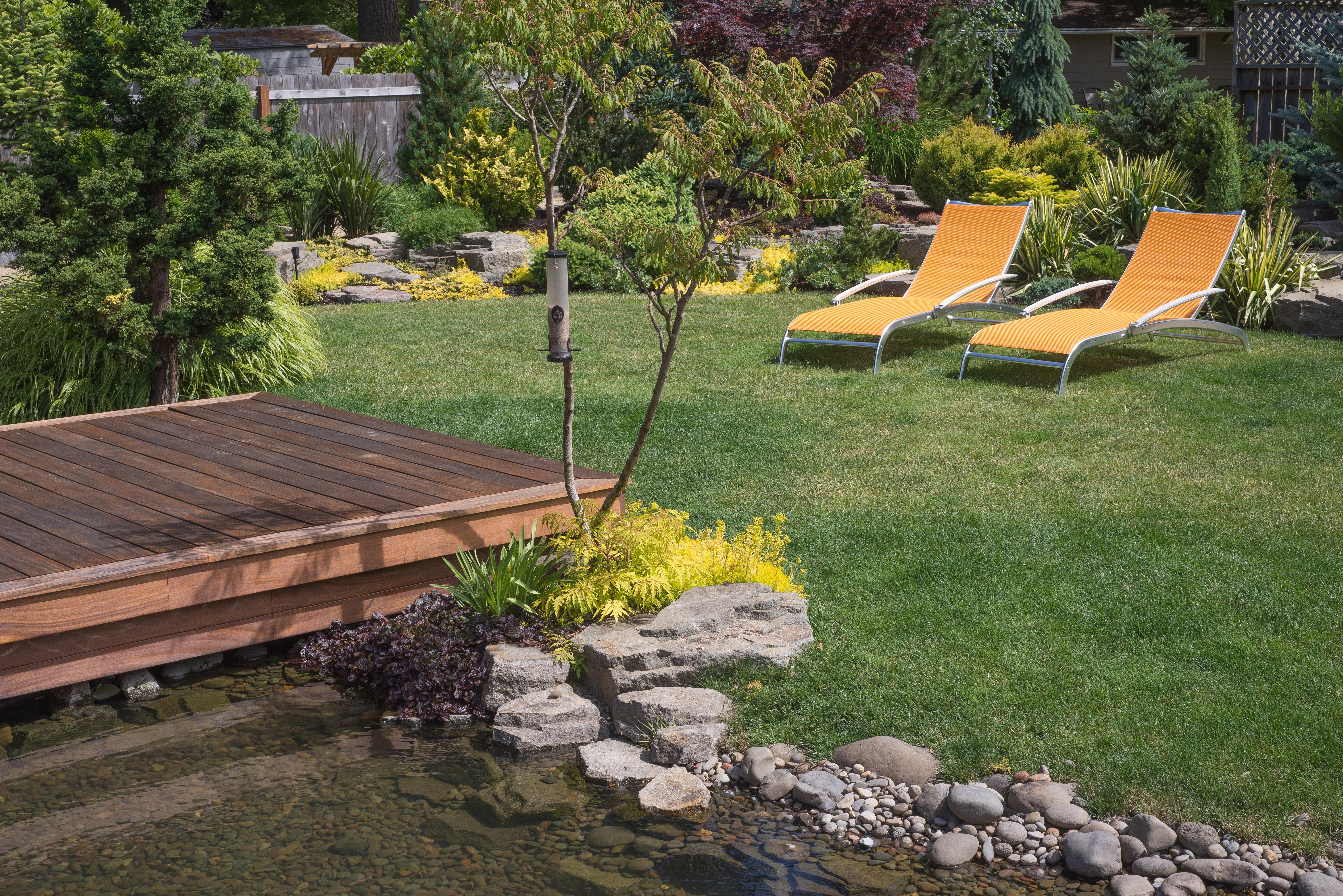 Bassin ornement et jardin