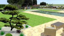 Plan paysager : un jardin zen résolument moderne
