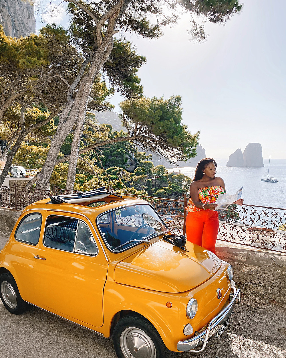Italy Fiat5oo Travel Guide