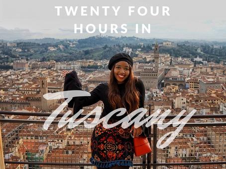 24 HOUR TUSCAN DAY TRIP - £10 RETURN FLIGHT