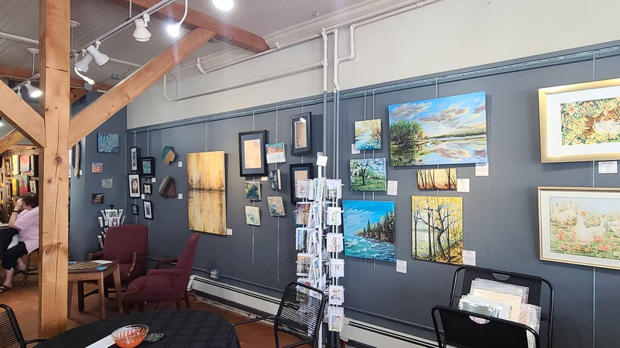 Over 30 artists in our gallery