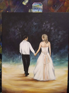 Wedding Anniversary painting