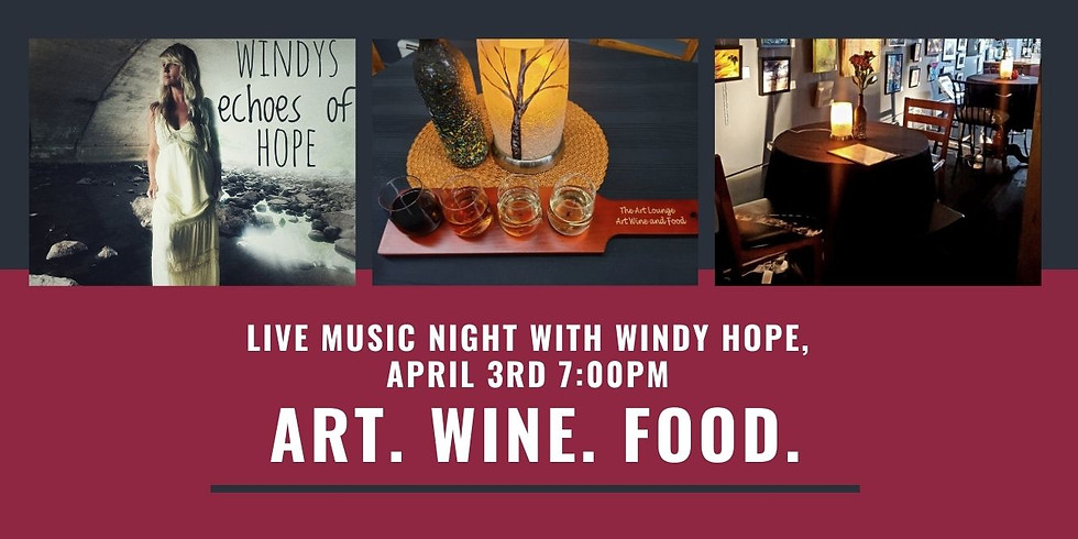 Live music night with Windy Hope