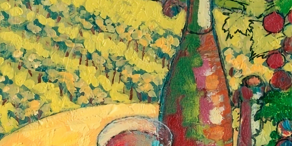 Paint and Sip night with Uptown Art in person or online
