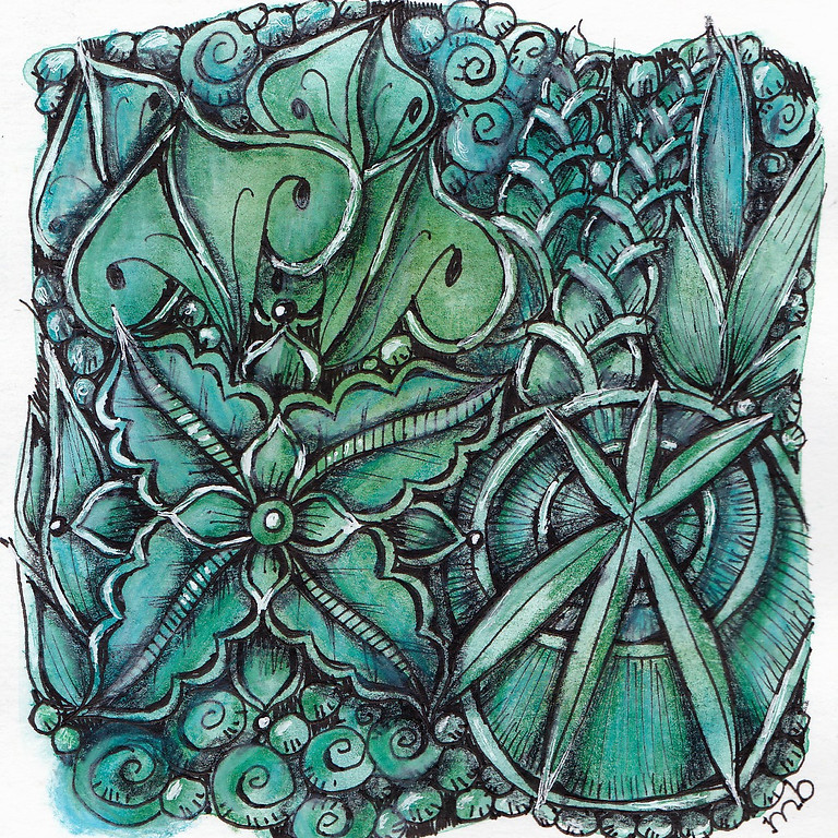 Zentangle Workshop for Beginners with Mary Boettcher