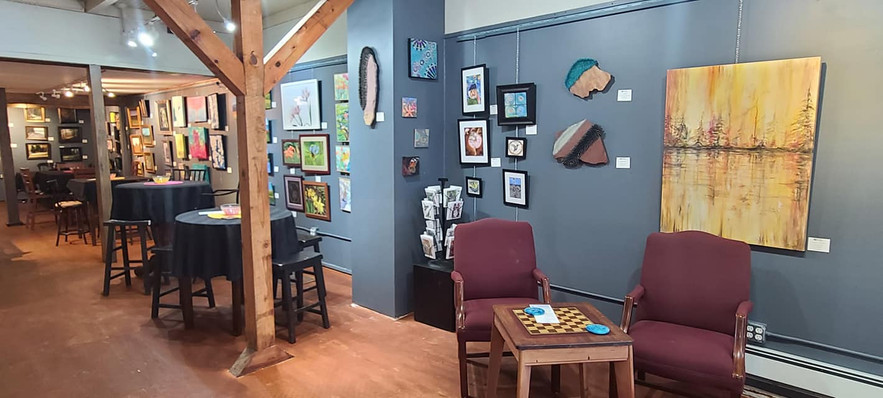 Art Gallery and Lounge