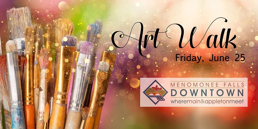 Art Walk, artist booths, plein air, live music and more...
