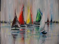 Rain is Beautiful - Colorful Sail 1