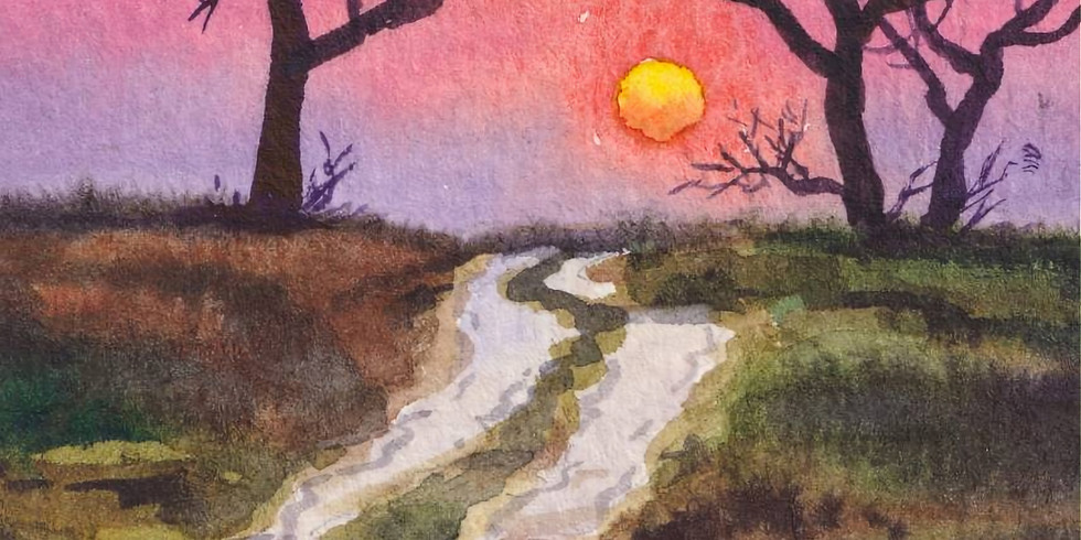 Road to Sunset Instructed Paint and Sip Event