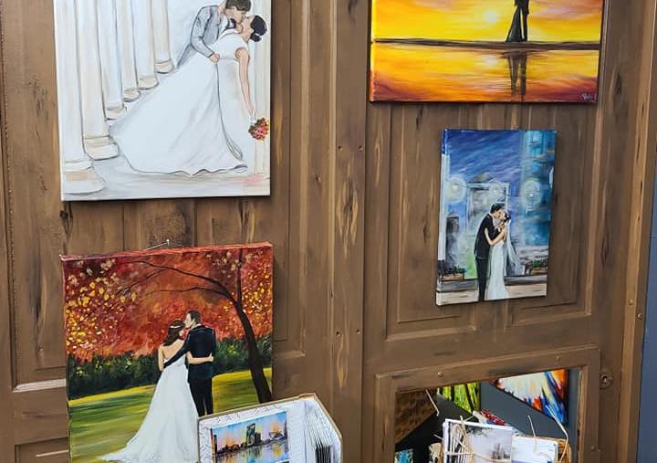 Stacie & Joe Estrada Wedding portraits