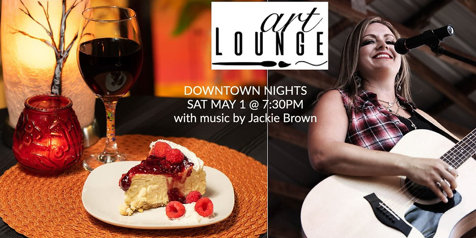 Live Music night with Jackie Brown, Explore your Palette, ART. WINE. FOOD.