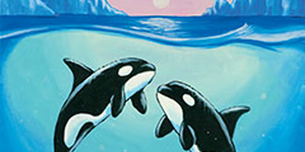We love Orcas painting class (preskecthed)