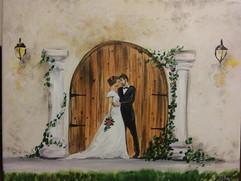 Wedding painting example