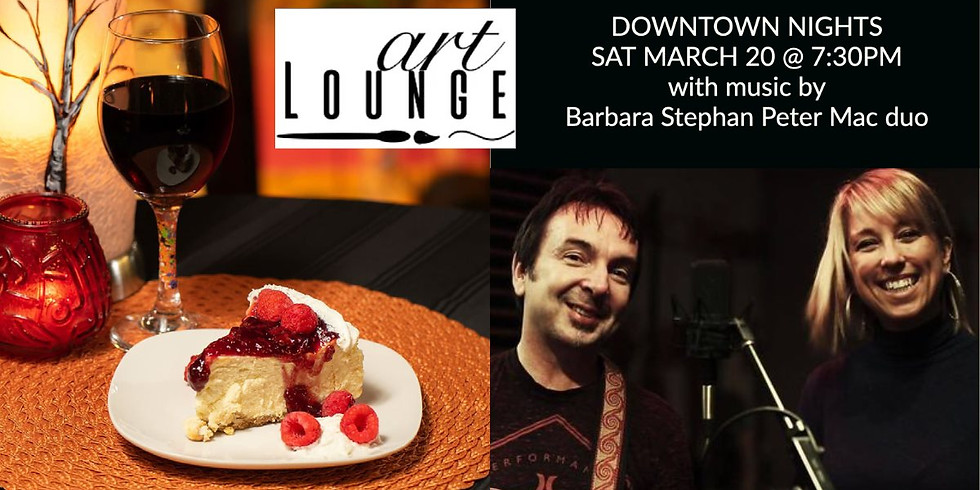 Live music night with Barbara Stephan Peter Mac Duo