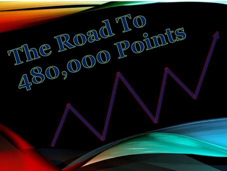 The Road To Gaining 480,000 Travel Reward Points
