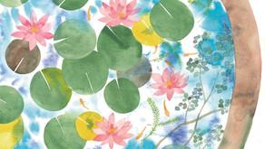 「花に聞くvol.14 睡蓮」お越しいただきありがとうございました!