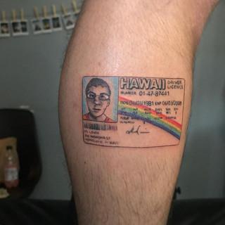Mc lovin' ❤️ fun ass tattoo more like th