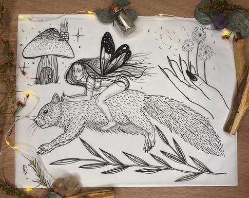 'Forest Fairies' Jan 2020