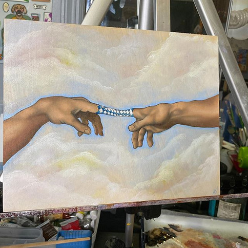 """""""Creation of— we're stuck!!"""" May 2020"""
