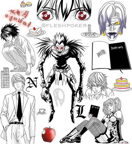 Death Note flash