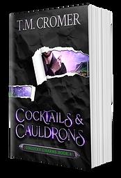 Coctails & Cauldrons Cover Reveal Paperb