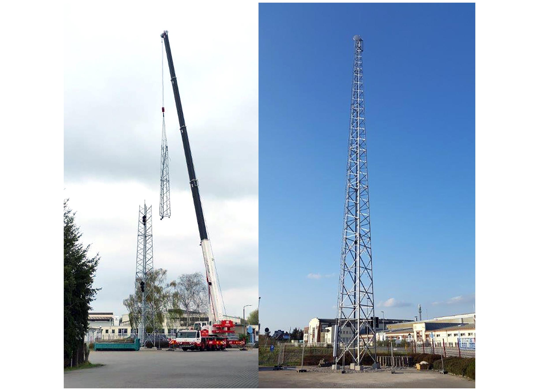 Beispielprojekt 2 Turmbau